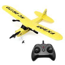все цены на Remote Control Classic Propeller Aircraft 2.4G EPP Foam Fixed Wing RC Model Airplane Toy Plane RTF Glider онлайн