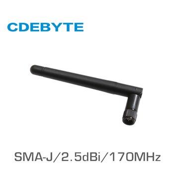 TX170-JK-11 170MHz SMA-J interface 50 Ohm impedance less than 1.5 SWR 2.5dBi gain high-quality omnidirectional antenna tx915 jz 5 915mhz sma j interface 50 ohm impedance less than 1 5 swr 2 0dbi gain high quality omnidirectional antenna