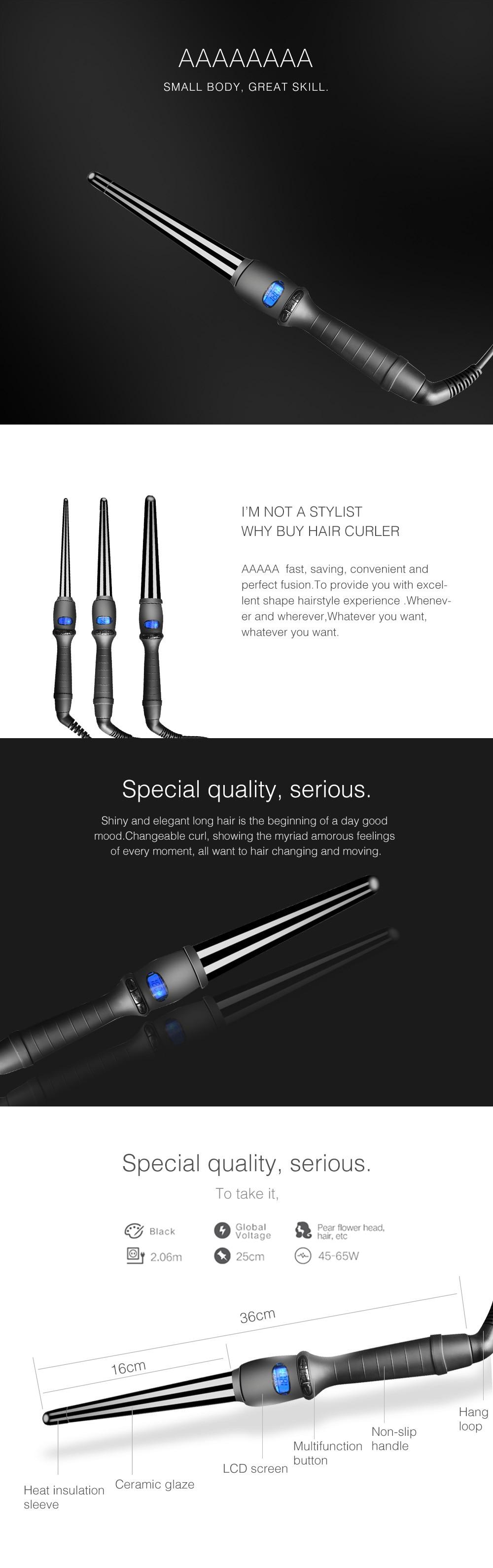 Single Tube Electric Curler