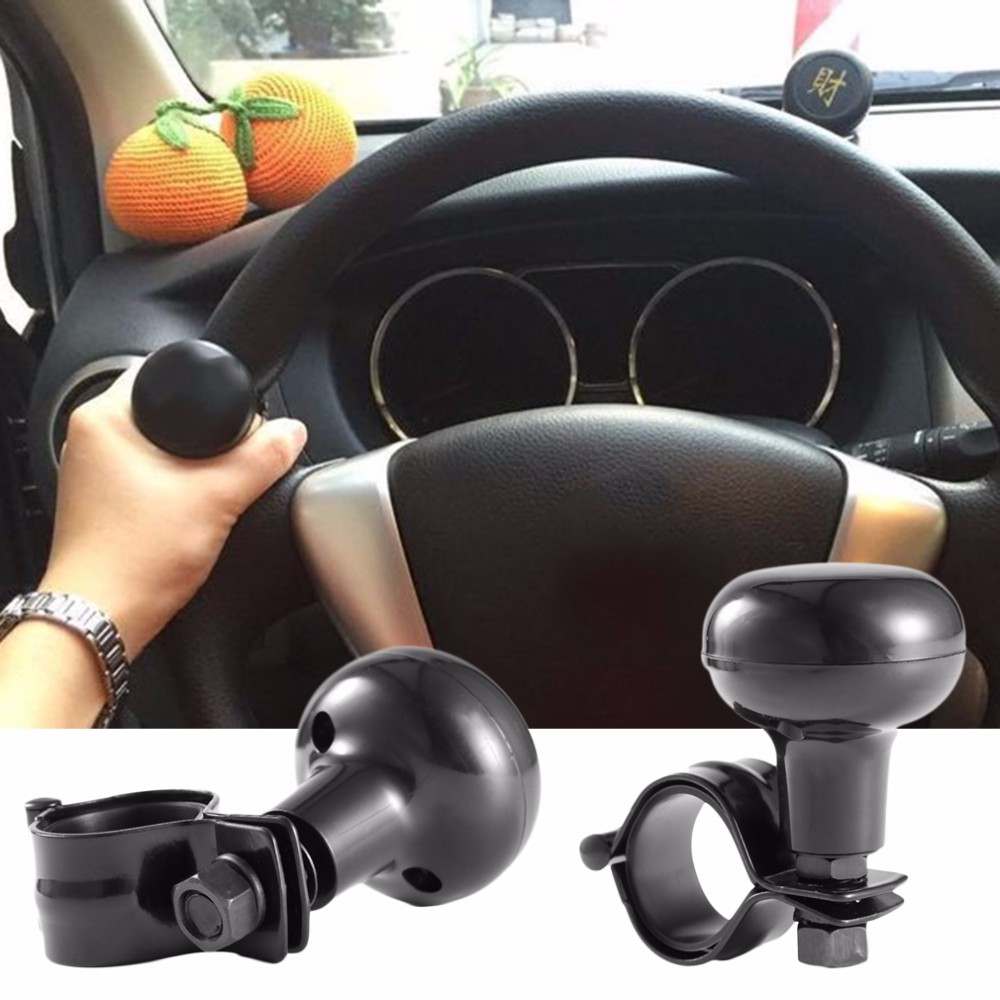Universal Car Heavy Duty Steering Wheel Knob Spinner Handle Auto//Tractor Power Knob for Most Steering Wheels