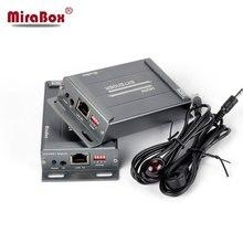 MiraBox HDMI матричный Extender 1080 P более IGMP переключатель Поддержка 16 отправителя 236 приемники с ИК Управление Over IP Ethernet extender