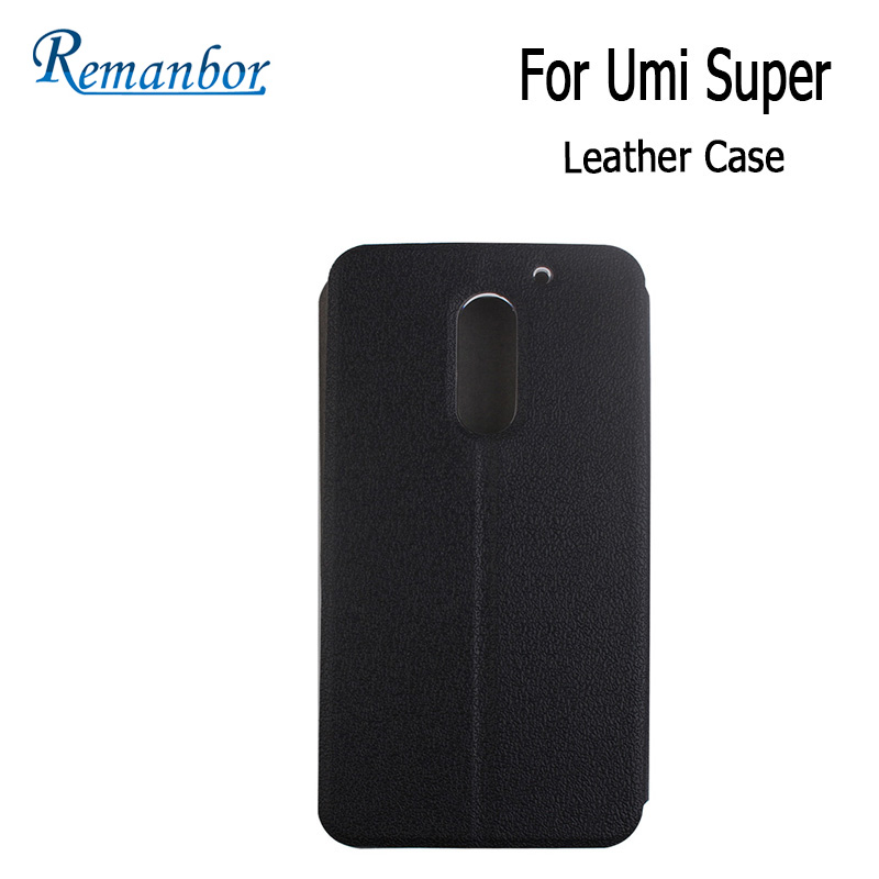 Remanbor For UMI Super Leather Case Cover Filp With Plastic Case Protective Cover Case for