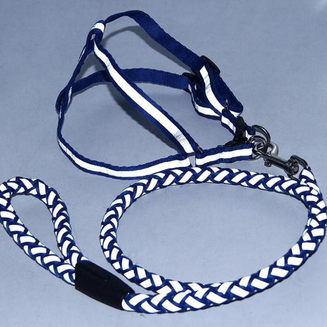 Hot Sell Reflective Dog Rope Harness Nylon Weaves Unibody Dog Leash Pet Chest Straps Pet Products 4 Colour 3 Size
