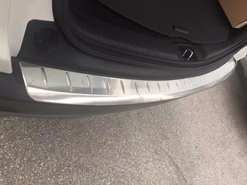액세서리 2017 honda crv CR-V 리어 범퍼 프로텍터 카고 스텝 패널 커버 씰 플레이트 트렁크 트림 장식