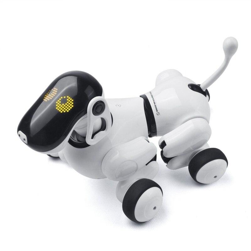Electrónica para perros mascotas Control remoto inteligente robot electrónico inalámbrico Robot parlante inteligente perro juguetes para niños Año Nuevo regalos de navidad - 5