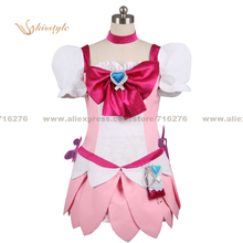 Kisstyle Fashion HeartCatch PreCure! HeartCatch Pretty Cure! Cure Blossom Tsubomi Hanasaki Cosplay Costume,Customized Accepted(China)