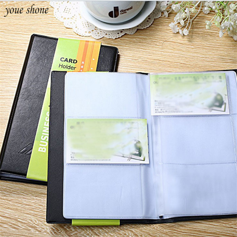 1Pcs/lot New Leather Arrival High-Grade Business Card Thin Office Stationery Credit Card Holder Business Supplies
