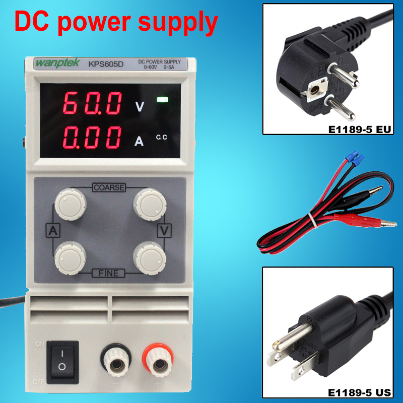 HOT Free shipping New Updated Adjustable DC power supply 60V 5A digital display high precision current meter DC Power Supply rps6005c 2 dc power supply 4 digital display high precision dc voltage supply 60v 5a linear power supply maintenance