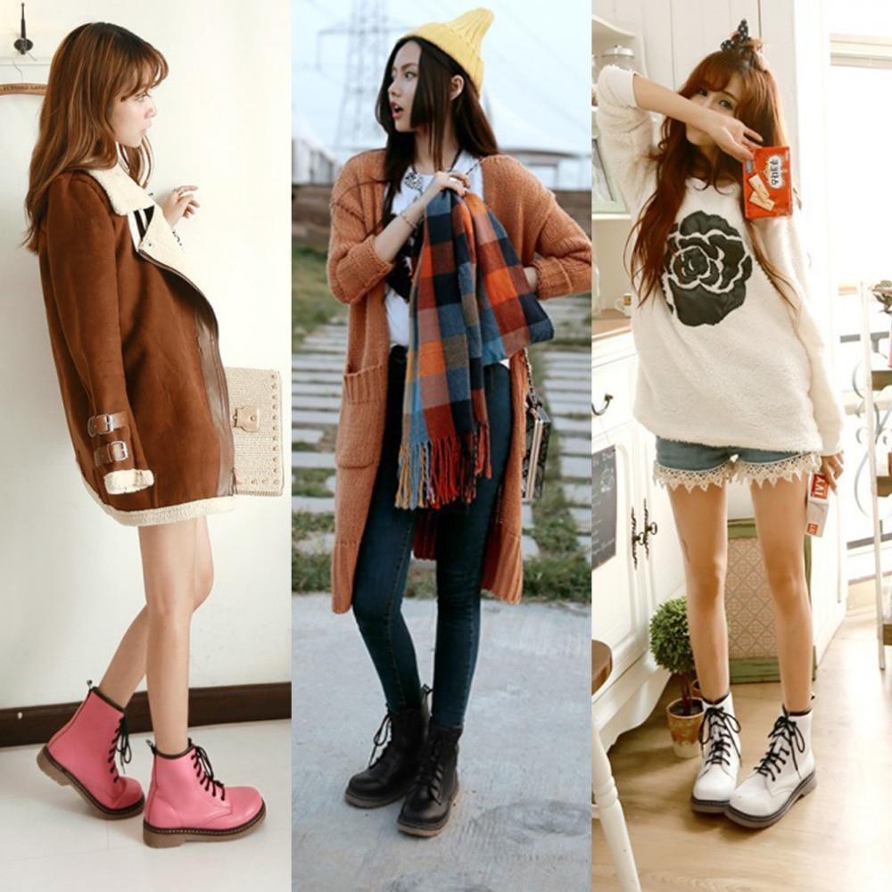 Popular Fashion Combat Boots Women-Buy Cheap Fashion Combat Boots ...