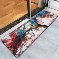 Creativity Personality Sky Tree Doormat Bedromm Kitchen Long Rug and Carpet Anti-Slip Area Floor Mat