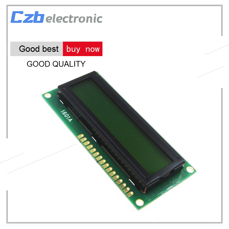White/Yellow/Blue Blacklight 1601 16x1 Character LCD Display Module For Arduino