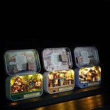 Creative Mini House Model Toys for Children Birthday Gift Pinata Educational DIY Toys for Kids Christmas Gift for Girls Oyuncak