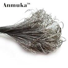 Anmuka 20pcs/lot Sea Fishing Tackle Lead Line Hairtail Fishing Hook Line Long Hook 31001-20