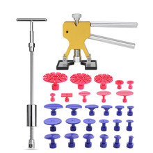 PDR Tool Sets Tools Auto Car Body Dent Lifter Remover Repair Puller Kit Slide hammer Suction Cup car kits accessories