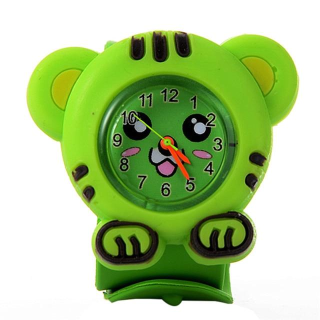 Cute Children Watches Fashion Quartz Leather Strap Wristwatches Cartoon Watches