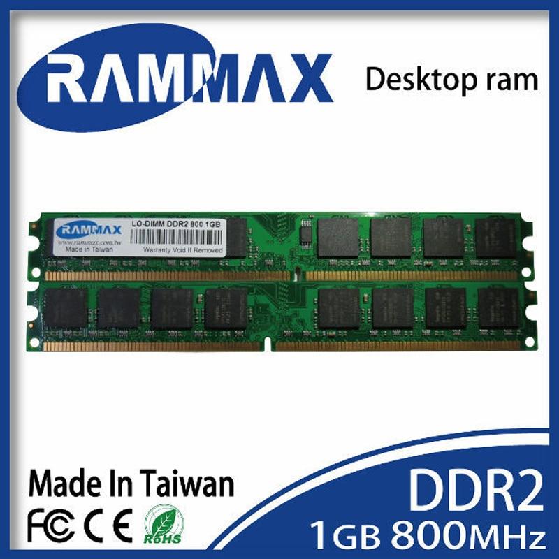 LO-DIMM 800 МГц PC2-6400 память рабочего стола Ram1GB DDR2 240-pin/CL6/1,8 v Высокая совместимость со всеми фирменными материнскими платами ПК компьютера