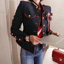 2020春新入荷新鮮高品質のコート女性のファッション快適なヴィンテージエレガントな休日固体かわいいワークスタイルジャケット