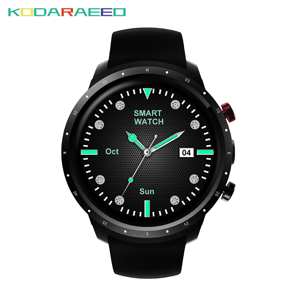 Z18 Smart Watch men 1.3Inch MTK6580 Quad Core 1.3GHZ Android 5.1 3G Smart Watch 460mAh 2.0 Mega Pixel Heart Rate Monitor goldenspike i3 smart watch 1 5 inch mtk6580 quad core 1 3ghz android 5 1 3g smart watch 500mah 2 0 mega pixel heart rate monitor