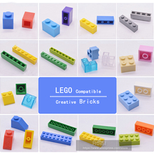 Kids Building Toys Kits Compatible With LEGO Bricks Parts Bulk Plastic DIY Figures City Early Learning Friends 100pcs/lot