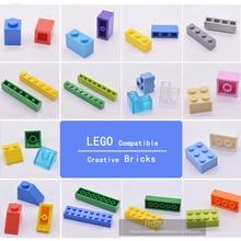 цена на Kids Building Toys Kits Compatible With LEGOES Bricks Parts Bulk Plastic DIY Figures City Early Learning Toys Friends 100pcs/lot