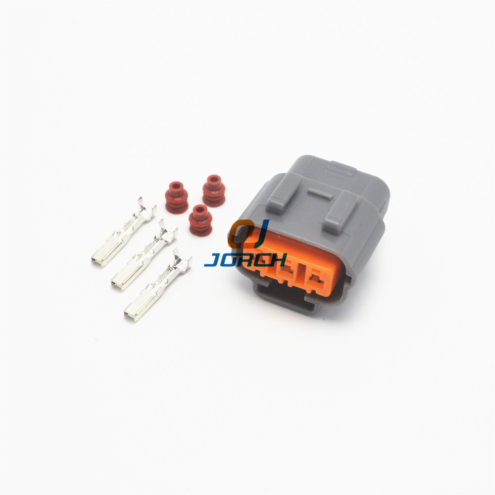 5 Sets 3 Pin DL 090 Female Sumitomo Waterproof Cable Plug Nissan Mazda RX8 Ignition Coil Connector 6195-0009