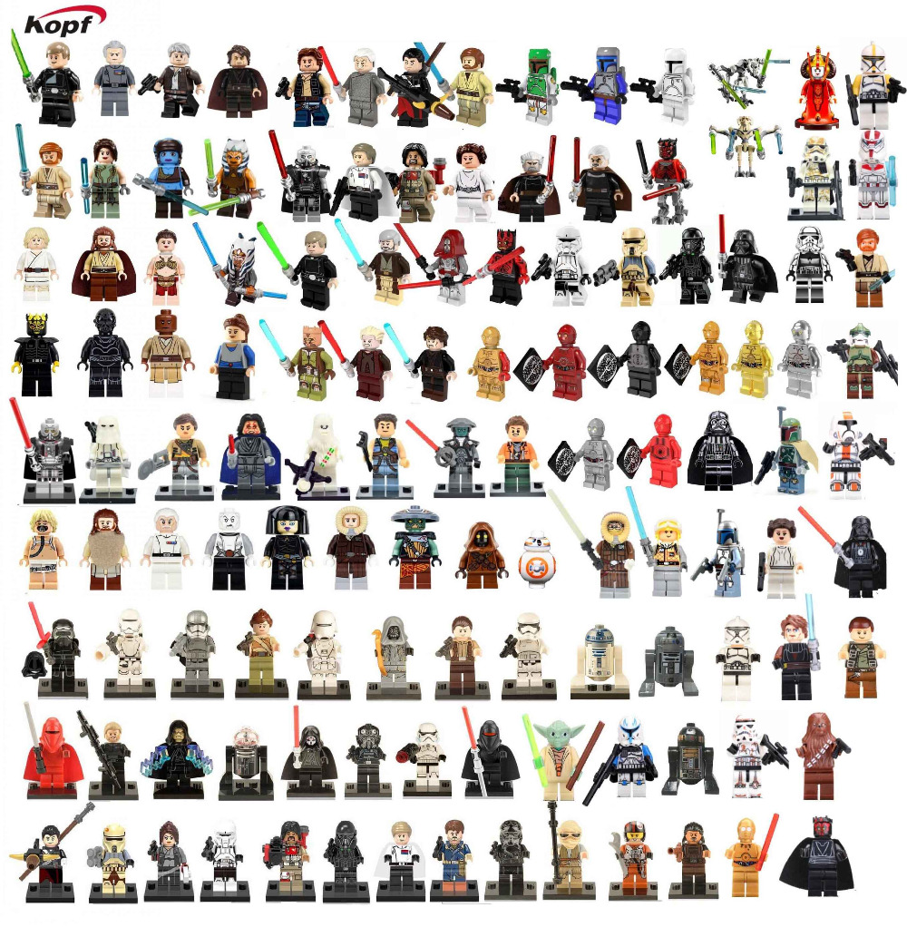 Star Wars Luke Skywalker Han Solo ARF Imperial Death Trooper Darth Vader Princess Leia Bricks Building Blocks Toys for children haogaole 320pc pg8037 star wars luke skywalker admiral wullf yularen asajj ventress han solo embo jawa kids toys