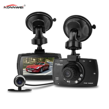 Cheapest prices Dash Cam Dual Night  Car DVR Camera  Dash Cam HD Video Recorder Registrator with Backup Rearview Camera Night Vision Waterproof