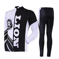 CUSROO 2017 New Lions Jersey Men S Cycling Jersey Set Mountain Bike Racing Clothing Specialized Cycling