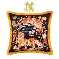 Home Decorative Sofa Throw Pillows Luxury cushion set living room sofa model pillowcase 50x50 animal leopard tiger pillowcase
