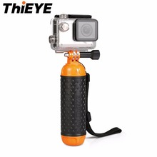 ThiEYE Universal Action Camera Floating Mount Handle Handheld Stick Monopod Cam Rubber Handle Bar For All ThiEYE Cameras