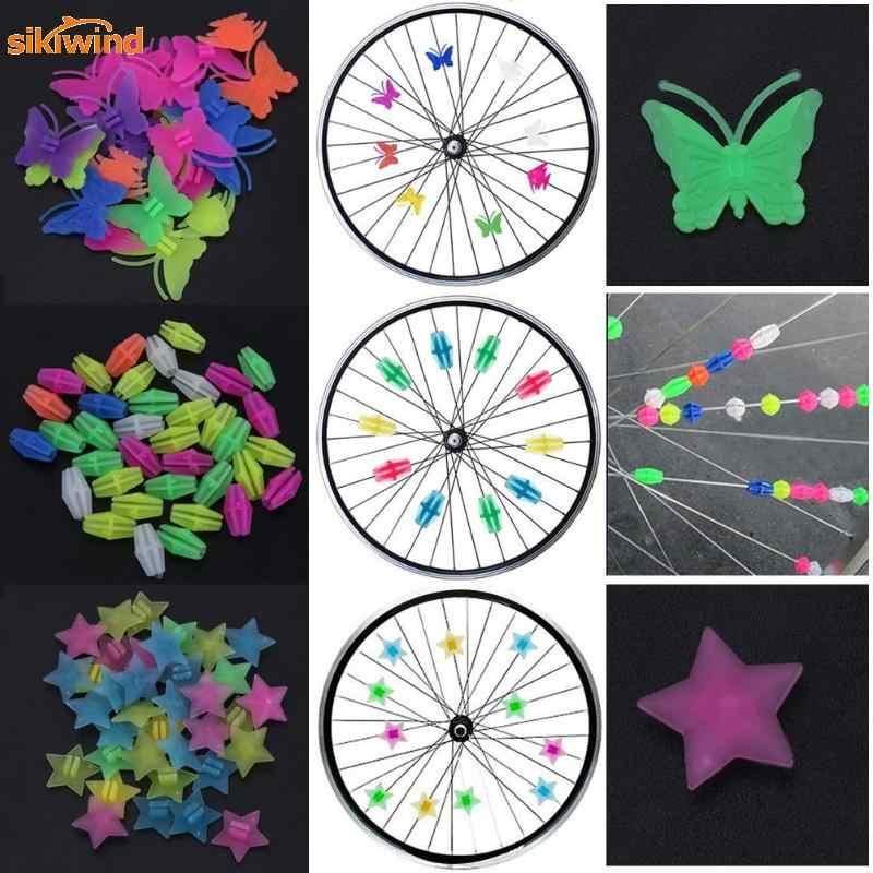 1 сумка, светящееся Велосипедное колесо, спицы, пластиковые, цветные, обёрточная бумага, декор труб, MTB, горная дорога, велосипед, спицы, велосипедные части, аксессуары для велосипеда