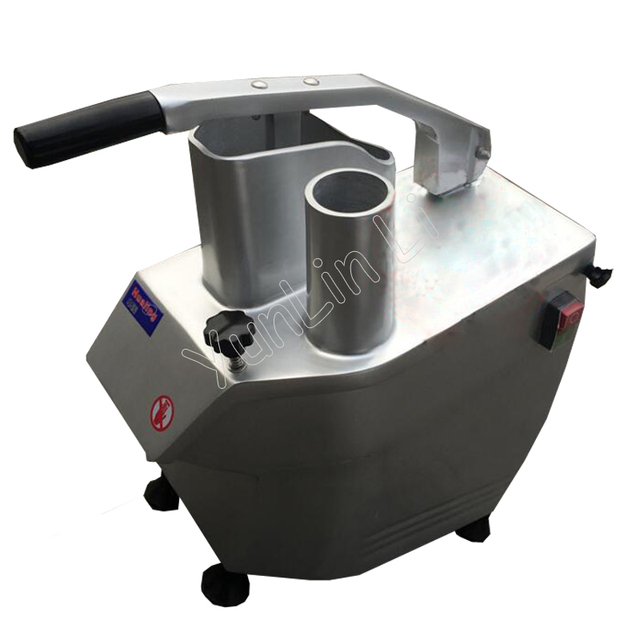 220V Automatic Vegetable Cutting Machine 550W Table Type Vegetable Masher Machine 150kg/h Leafy Greens Cutter HLC-300