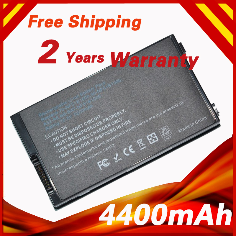 6 cells Laptop Battery For Asus A32-A8 A8TL751 B991205 70-NF51B1000 A72DY A72JT A72JU A8 A8000 A8000F A8000J A8000Ja Z99 X83 свитшот pinko 1g134u y49t z99