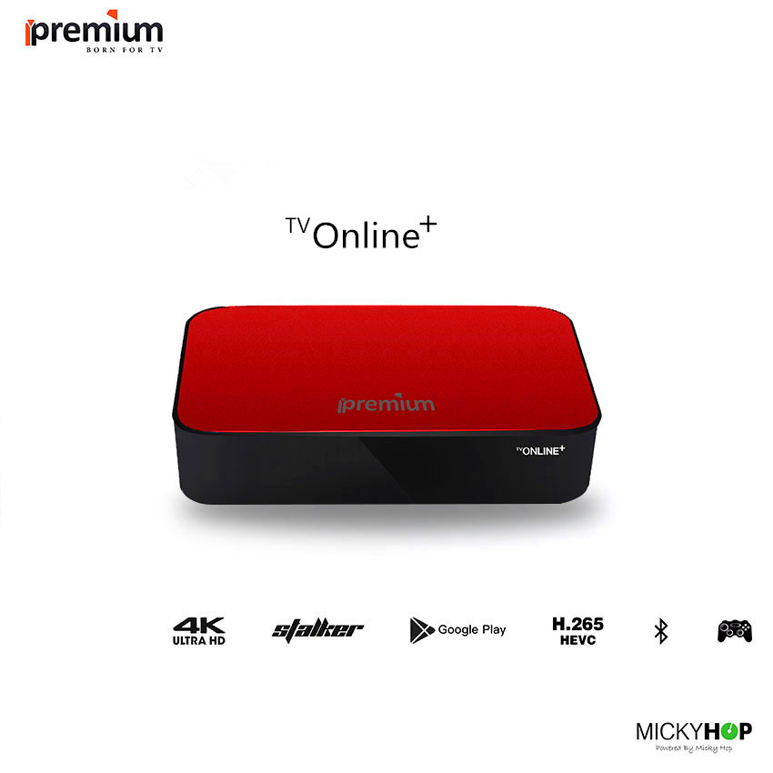 Ipremium TV Online+  Smart  IPTV OTT Set Top Box Online Quad Core Stalker Server Mini Media Player Receiver For Worldwide Used