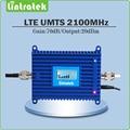 FDD Band 1 Ganancia 70dB UMTS 2100 Mhz amplificador de señal móvil 3G repetidor de señal 2100 mhz (HSPA) WCDMA amplificador de señal con la exhibición del Lcd
