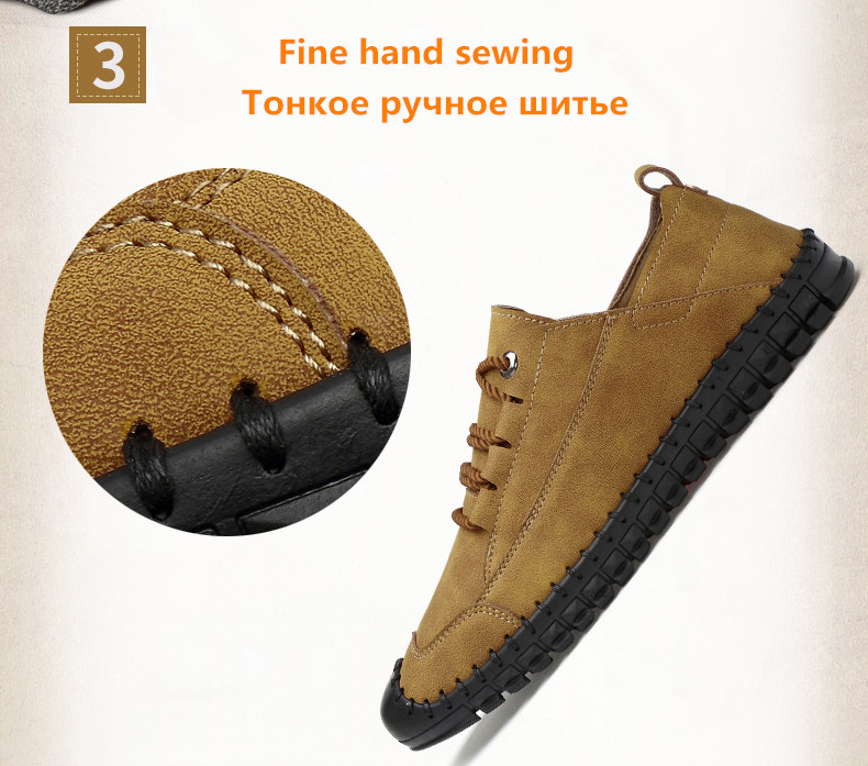 HTB1bHtXatfvK1RjSspoq6zfNpXav - 2019 New Fashion Leather Spring Casual Shoes Men's Shoes Handmade Vintage Loafers Men Flats Hot Sale Moccasins Sneakers Big Size
