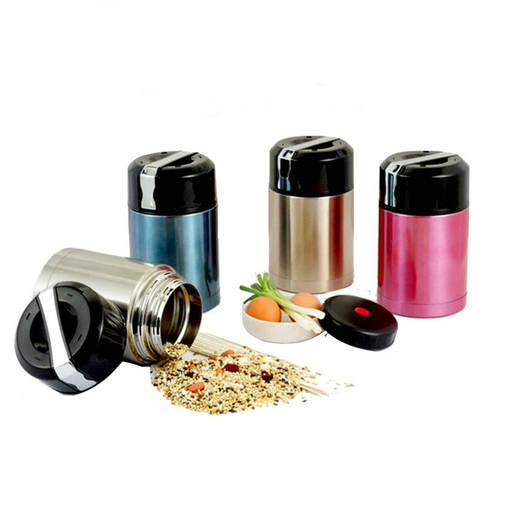 Stainless Steel Thermal Heat Warm Travel Bottle Double Vacuum Mug Insulation Flask Wonder Cooker Pot