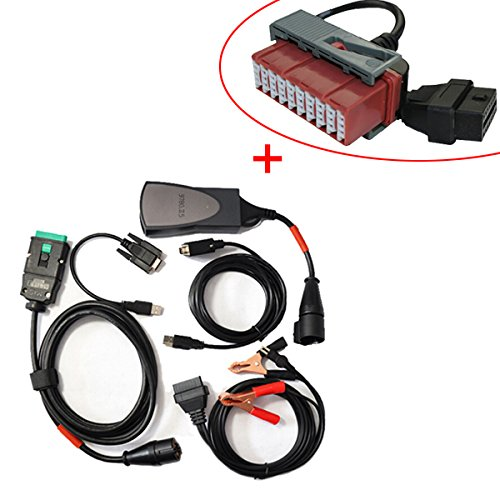 PP2000 Lexia 3 With Diagbox Citroen Peugeot Interface With Old 30 Pin OBD2 Cable