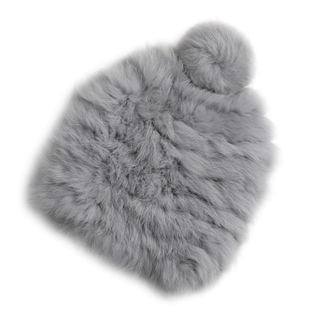 Real Rabbit Fur Women's Hats Winter Hats Knitting Rabbit Fur Caps Skullies Women Beanies Hat Female Solid Colors Gorros Cap F3 2017 classic russian women super good quality wool beanies hats with real fur ball knit caps solid skullies casual cap