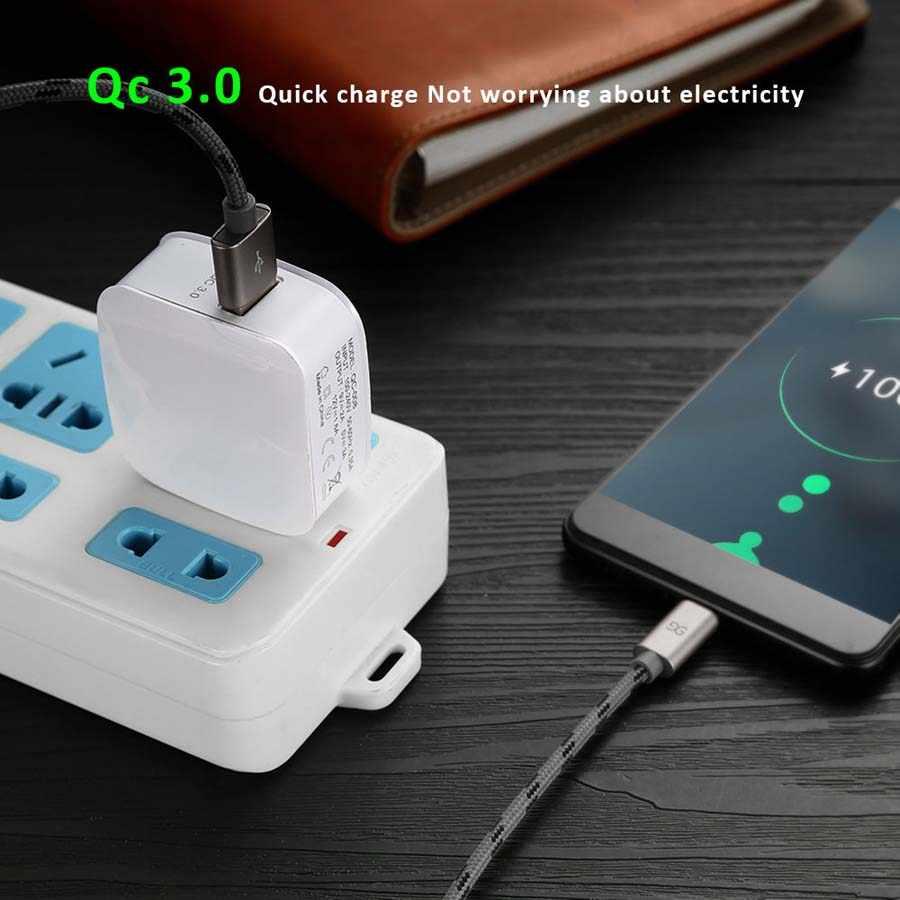18 ワット電話 USB 充電器急速充電 3.0 高速携帯電話の充電器 USB アダプタ htc M8 M8 ソニー XZ /XZ プレミアム LG G5 G6 V20 V30