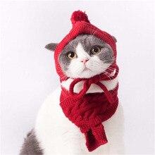 Зимняя одежда для домашних животных, одежда для кошек, ошейник для домашних животных, костюм для собак, шапка и шарф, товары для магазинов, аксессуары, свитер, одежда