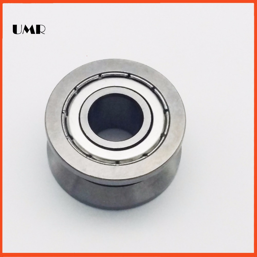LV204-57ZZ V Groove Guide roller bearings LV204-57 ZZ L-57 RV204/20.57-30 20*57*22 (Precision double row balls) ABEC-5 50mm bearings nn3010k p5 3182110 50mmx80mmx23mm abec 5 double row cylindrical roller bearings high precision