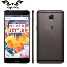 """L'UE Version OnePlus 3 T A3003 5.5 """"FHD Android 6 Snapdragon 821 6 GB RAM 128 GB ROM 16MP NFC Mobile Téléphone Oneplus 3 T"""