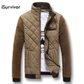 New 2016 Fashion Winter Downs Jacket Men Outwear Warm Coat Parkas Thickening Casual Slim Fit Zipper Jackets Coats Clothing