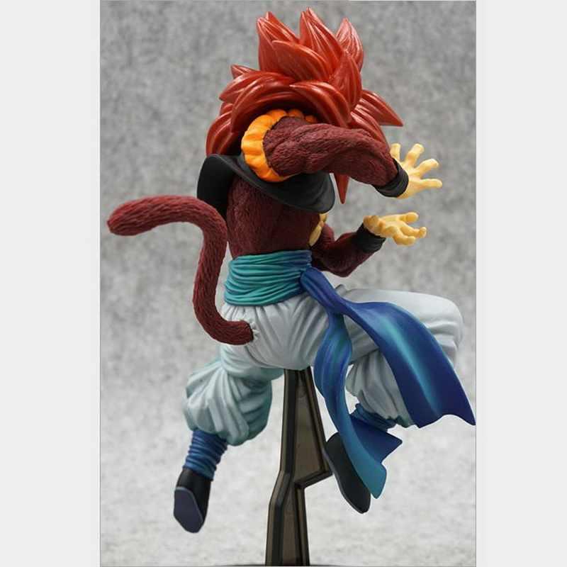 Brinquedos de moda anime brinquedos dragon ball z figura super saiyan gogeta figuração figura pvc ação collectible modelo de brinquedo presentes