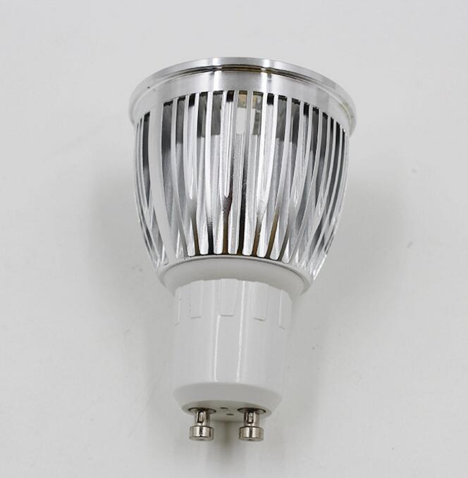 Free shipping Dimmable 9W GU10 COB LED Spotlights Lamp LED Downlights LED Bulbs Lights AC110V AC220V in LED Spotlights from Lights Lighting