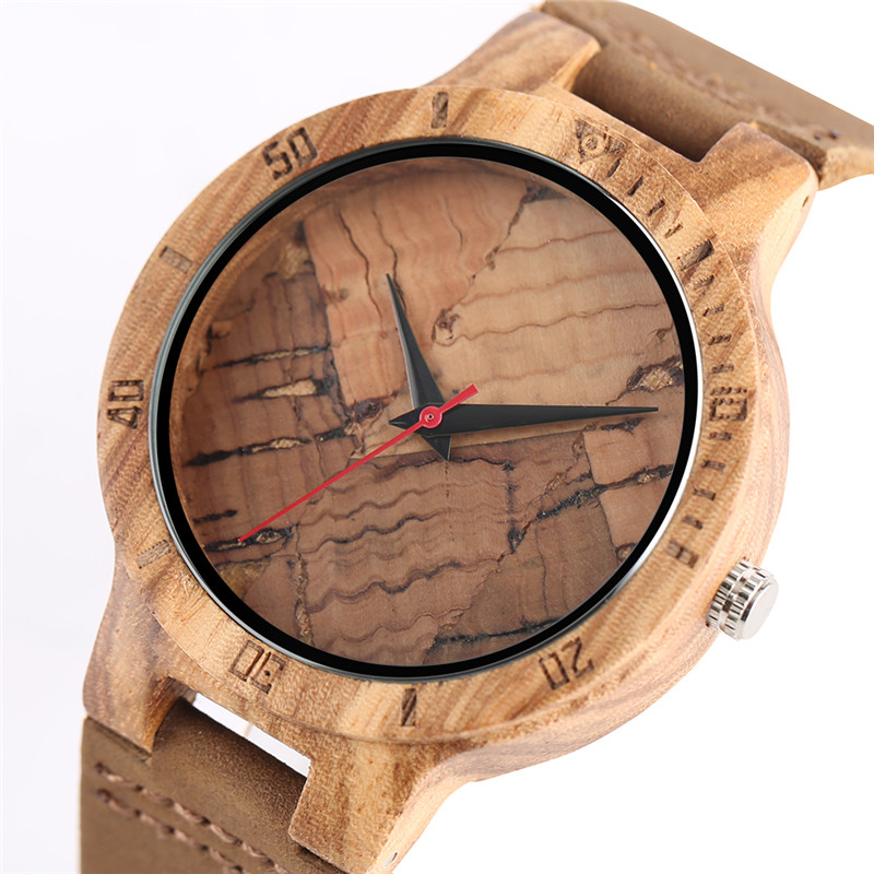 Unique Wood Watches Bamboo Walnut Texture Design Complicate Exquisite Wooden Watch for Men Women Wristwatches relogio masculino new men design bamboo wristwatches with wider genuine cowhide band for men and women luxury wood wrist watch as gifts