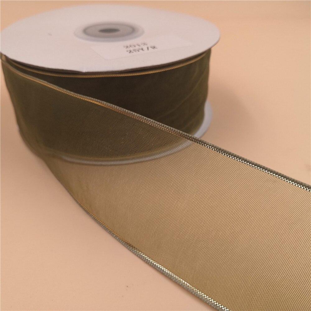 Moss Green Satin Ribbon Roll 38mm 25mm 15mm 10mm  6mm 3mm Width Various Length