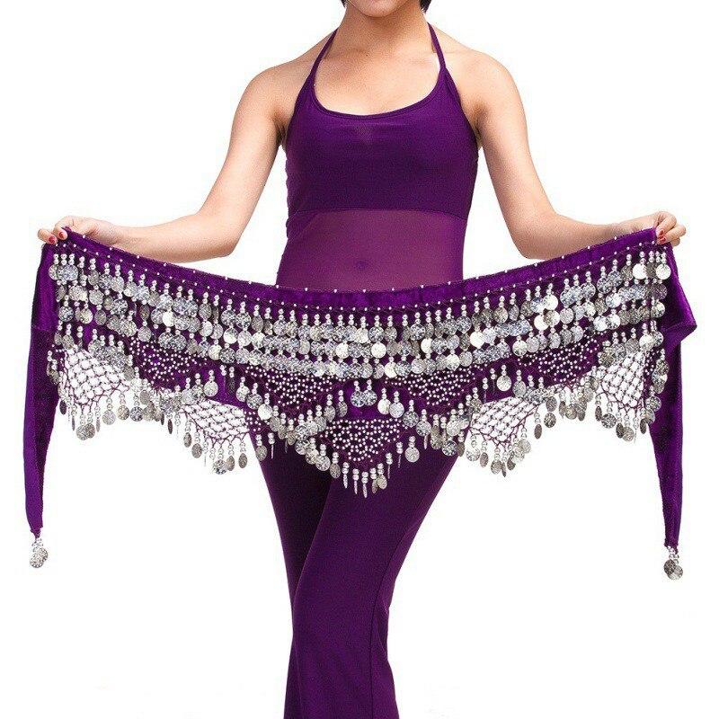 2017 Hot Selling Fashion Cheap Women Tribal Belly Dance Hip Scarves Belly Dancing Waist Belts On Sale Women Dancing Wear