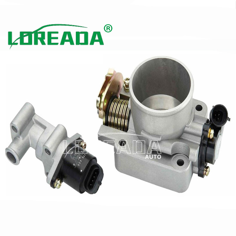 Throttle body D50F for DELPHI system Engine Displacement /EQ491,2.0L Bore size 50mm Throttle valve Assembly